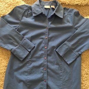 Kim Rogers petite button down shirt